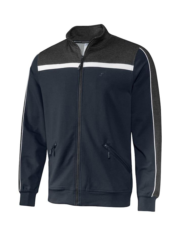JOY sportswear Freizeitjacke HENRIK, night/asphalt melange
