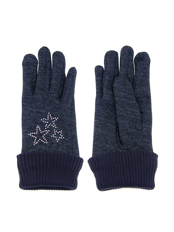 Handschuhe mit tollen Glitzer-Sternen