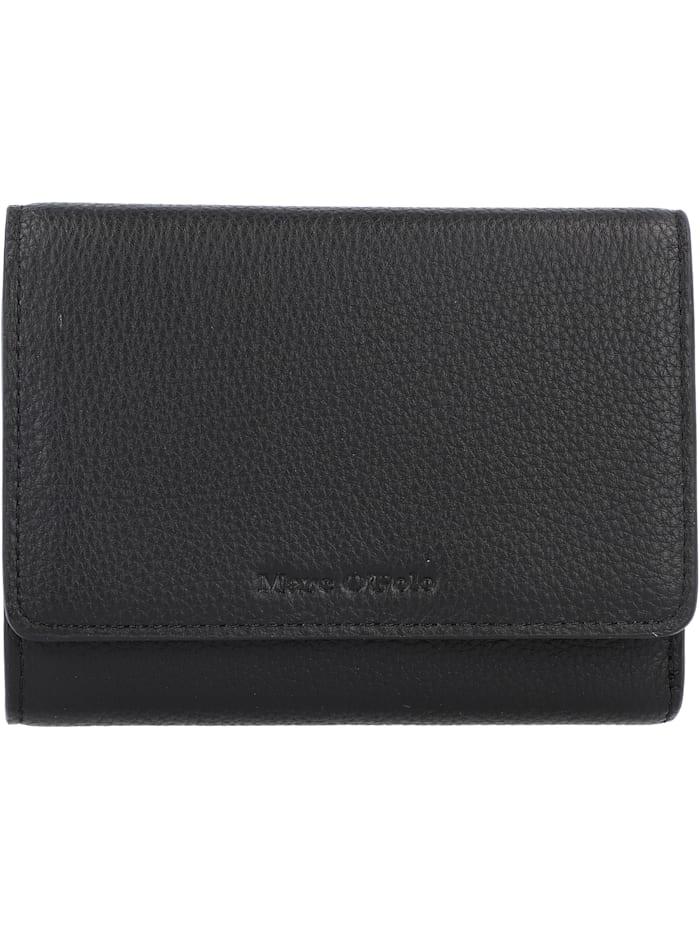 Marc O'Polo Myra Geldbörse RFID Leder 15 cm, black