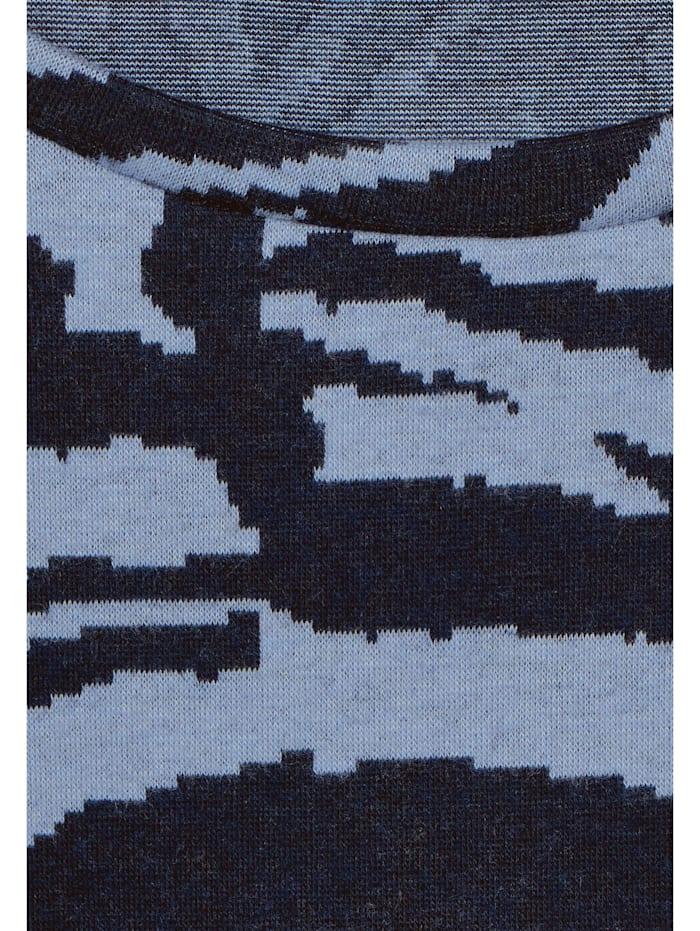 U-Boot Shirt mit Zebra