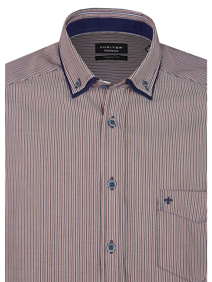 Langarmhemd mit modischen Streifen