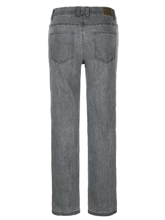 5-Pocket Jeans in bequemer Passform