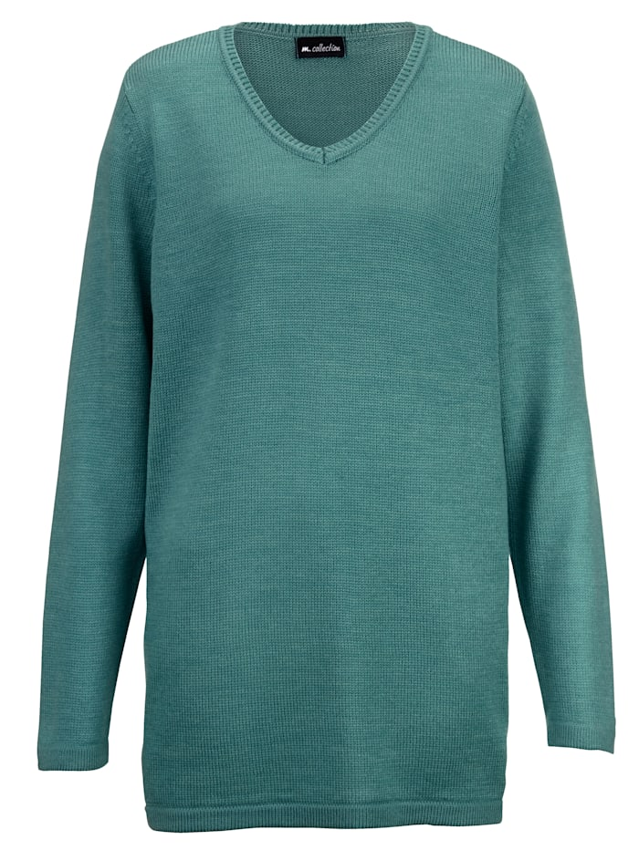 Pullover in Basic-Form