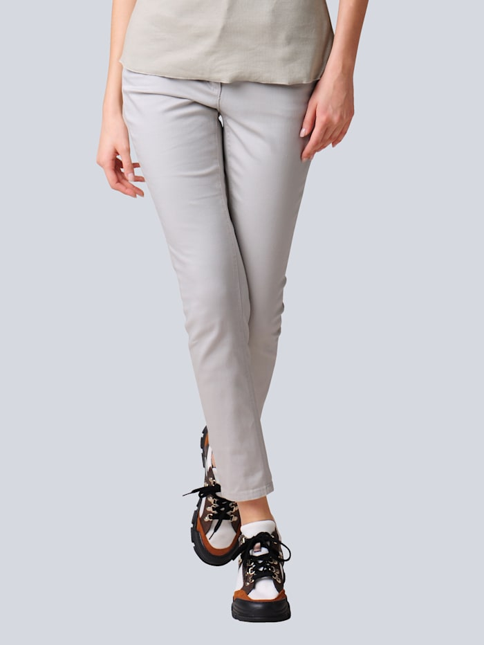 Alba Moda Jeans mit Push-up Funktion, Natur
