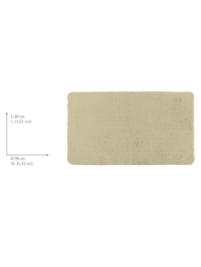 Badteppich Belize Sand, 60 x 90 cm, Mikrofaser