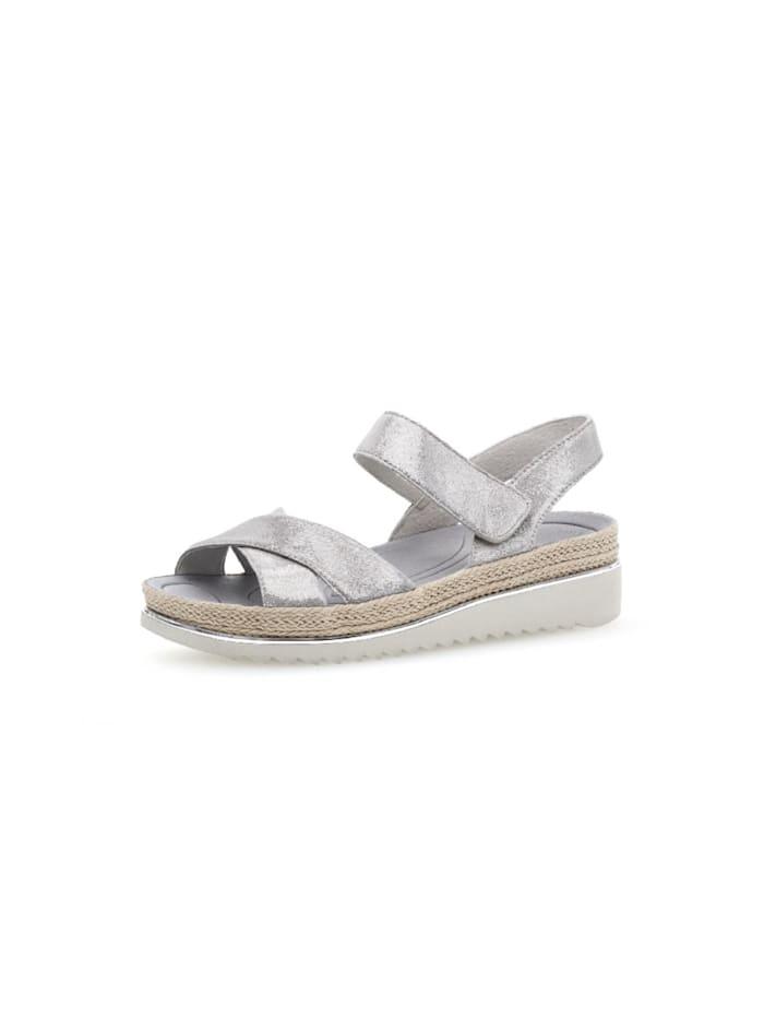 Gabor Sandale Sandale, hell-grau