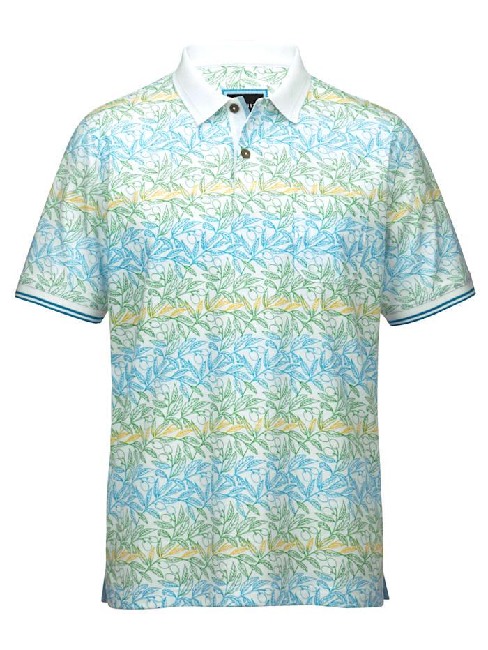 BABISTA Poloshirt van eersteklas materiaal, Groen/Turquoise