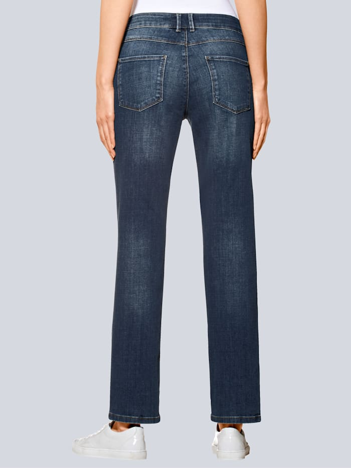 Jeans mit geradem Beinverlauf