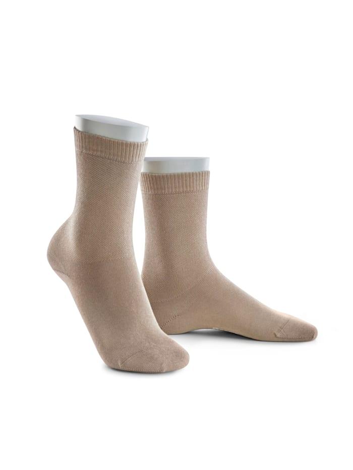 BABISTA Sokken geschikt voor diabetici, Beige