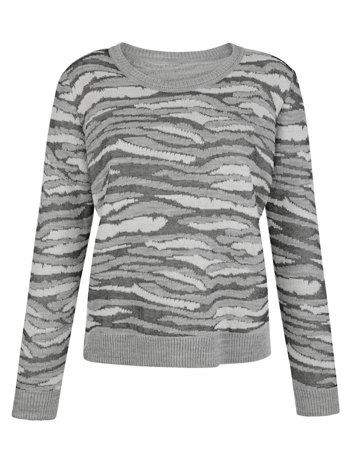 Pullover im Animal-Dessin