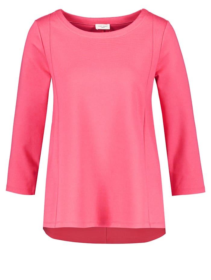 Gerry Weber Ausgestelltes 3/4 Arm Shirt, Bright Coral