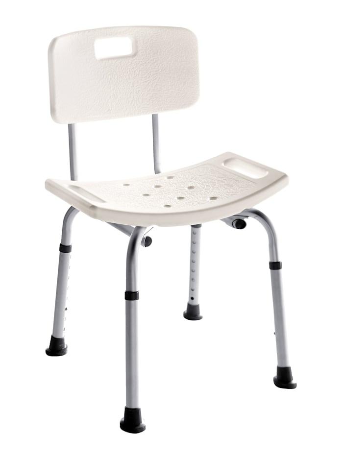Rehaforum Chaise de douche, Blanc