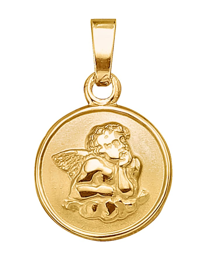 Diemer Gold Engel-Anhänger, Gelb