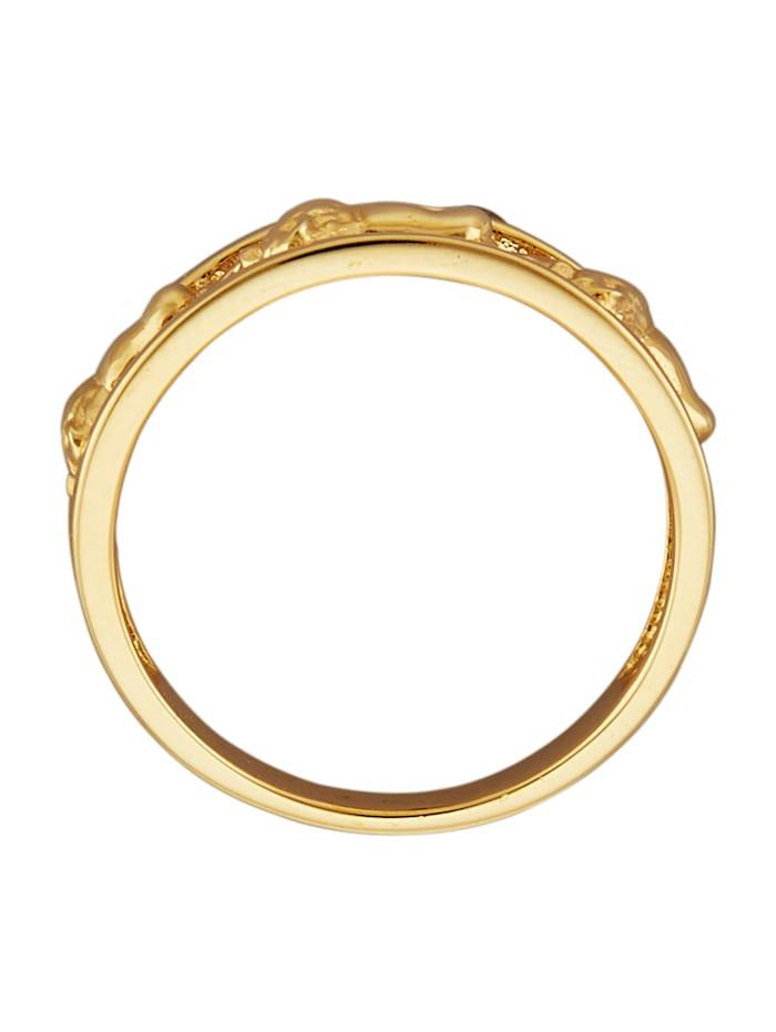 Ring Leeuw van 14 kt. goud