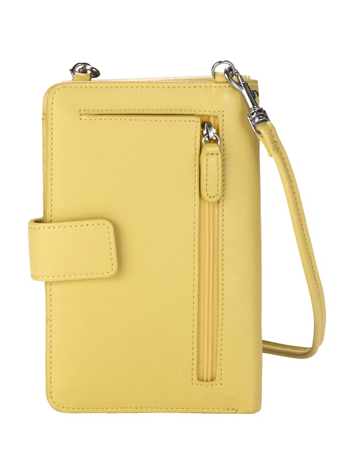 Phone bag with an integrated purse