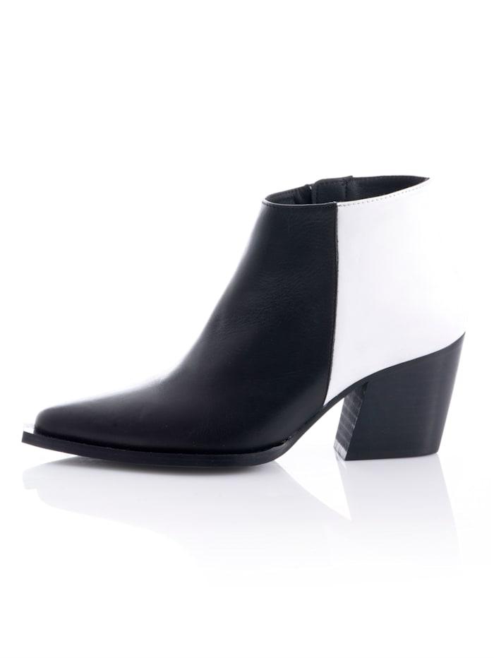 Low boots d'esprit cow-boy