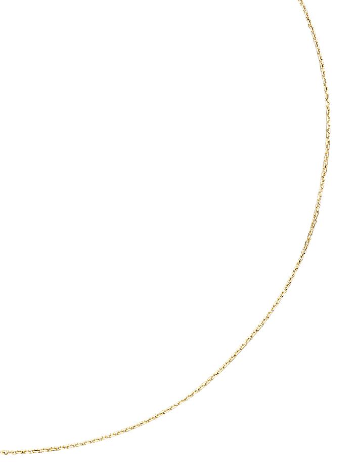 Diemer Gold Chaîne maille ancrée en or jaune, Jaune