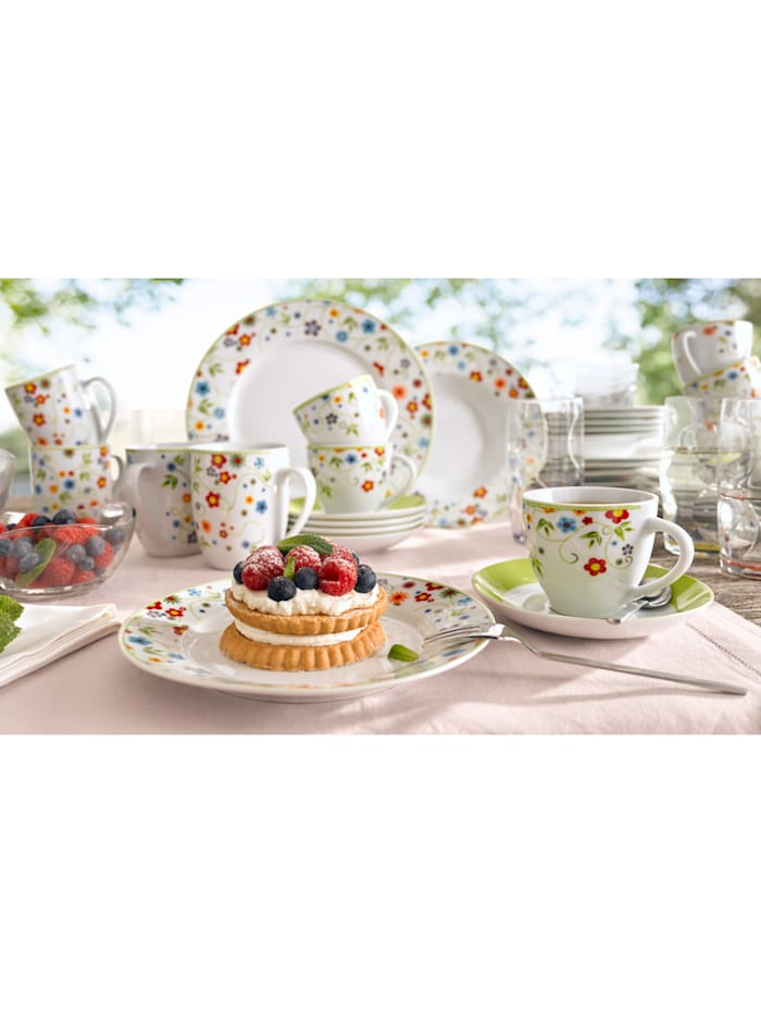 12-delig servies Vario Flower