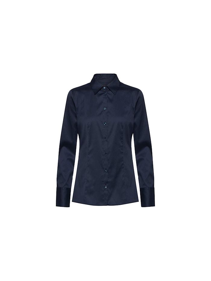 HUGO BOSS Bluse, blau