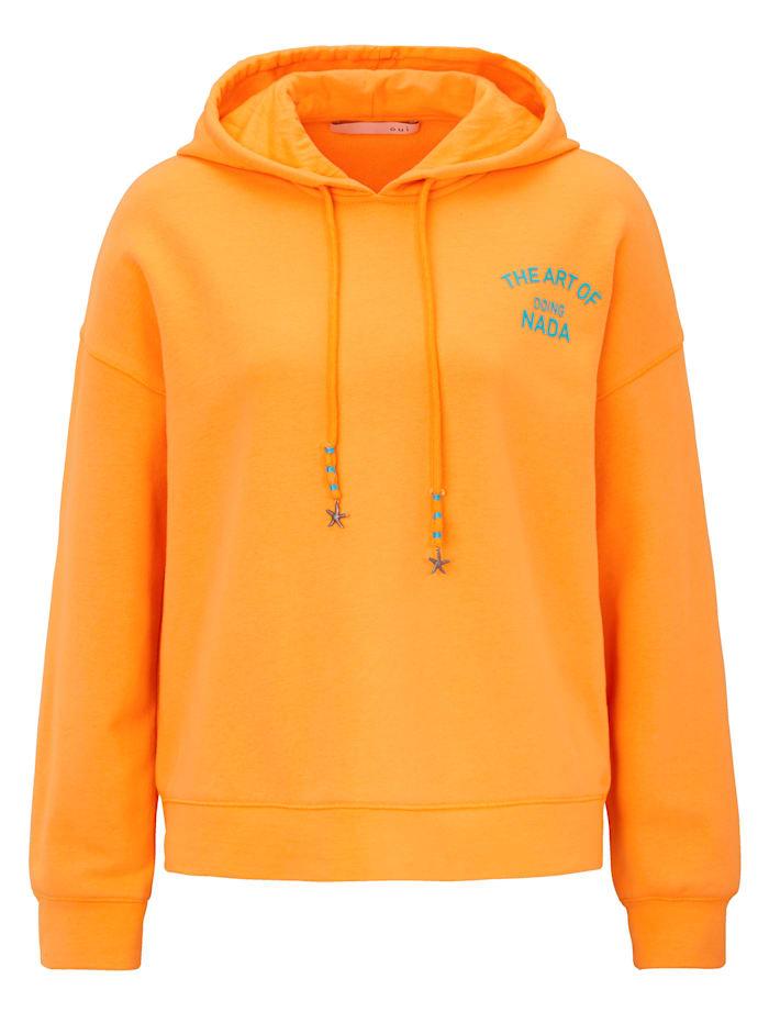 OUI Hoodie, Orange