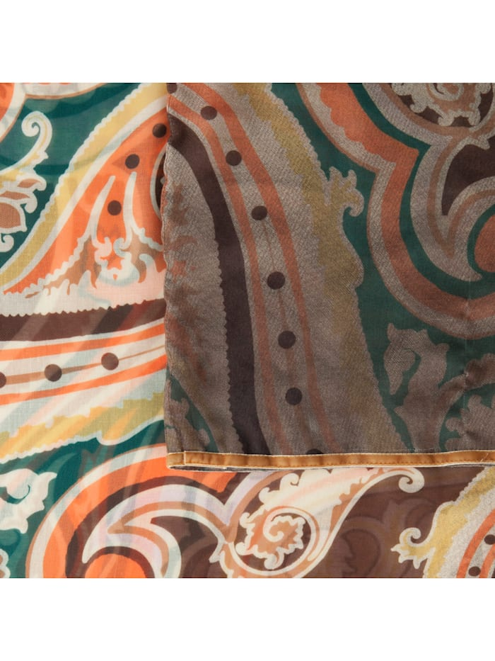 Softer Paisley-Loop aus recyceltem Polyester