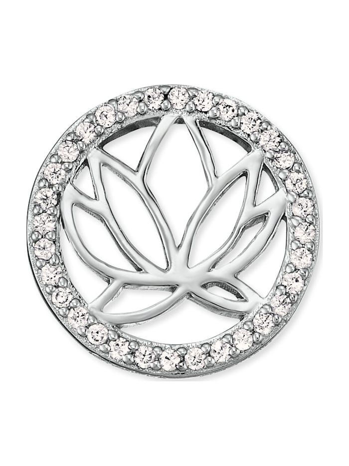 Engelsrufer Damen-Ohrstecker Lotus 925er Silber