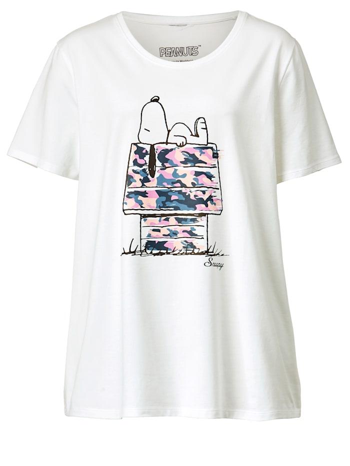 Shirt van katoen met stretch