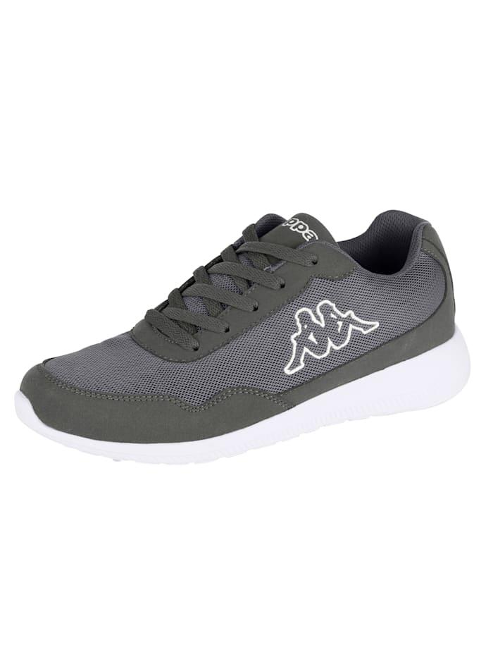 Kappa Sneaker in meshlook, Antraciet