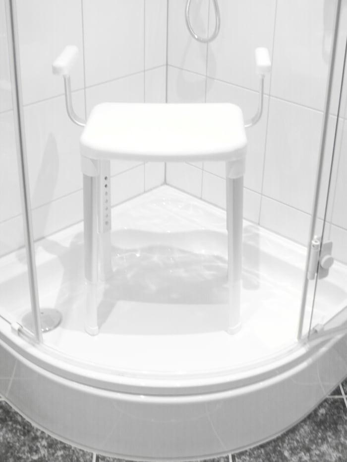 Dusch- und Badhocker mit Armlehnen