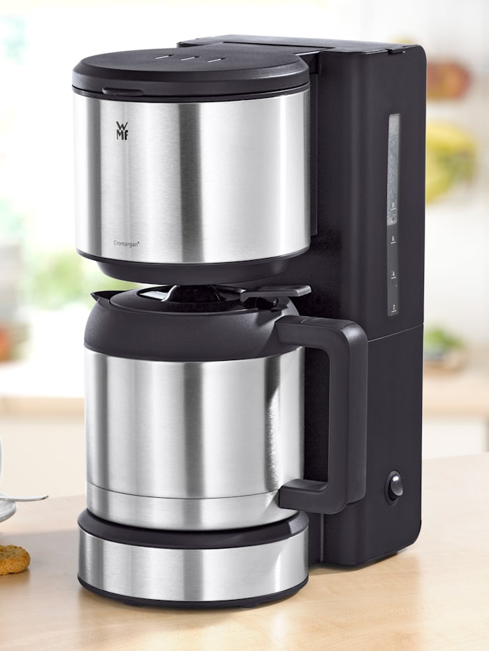 WMF Koffiezetapparaat met thermoskan, zilverkleur/roestvrij staal