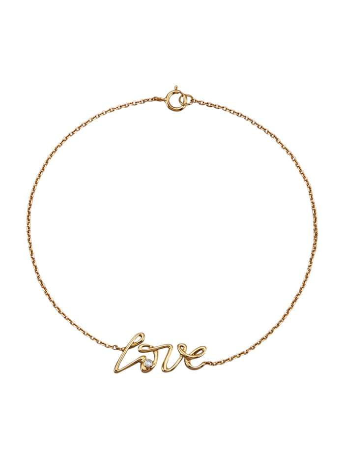 AMY VERMONT Bracelet avec diamants, Coloris or jaune