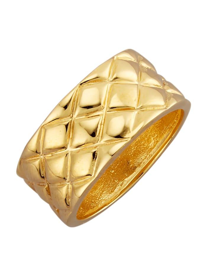 Förlovningsring i silver 925, Guldfärgad