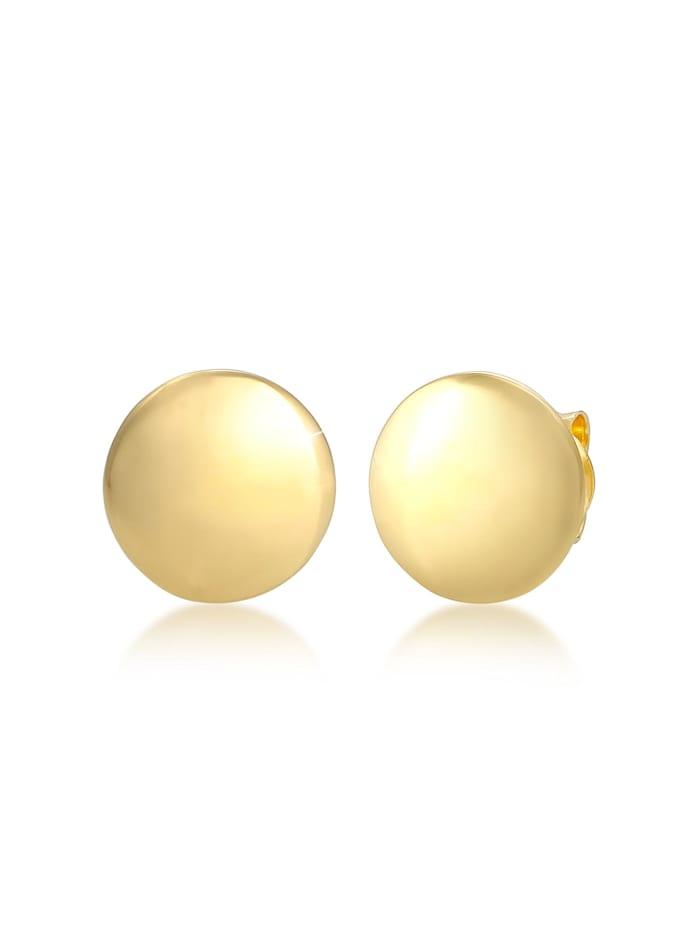 Elli Ohrringe Stecker Kreis Basic Geo Design Trend 925 Silber, Gold