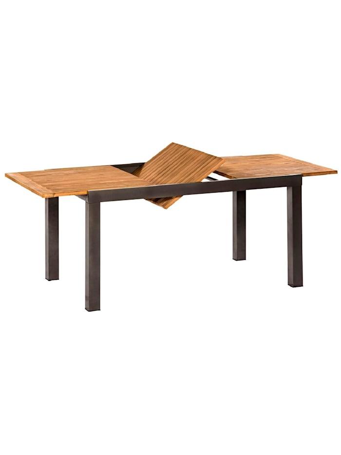 Living Outdoor-Tisch, Natur/Grau