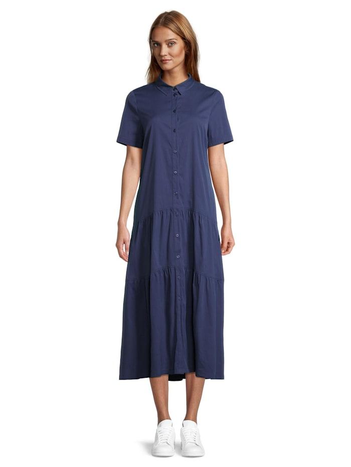 Vera Mont Hemdblusenkleid mit Stufen, Blau