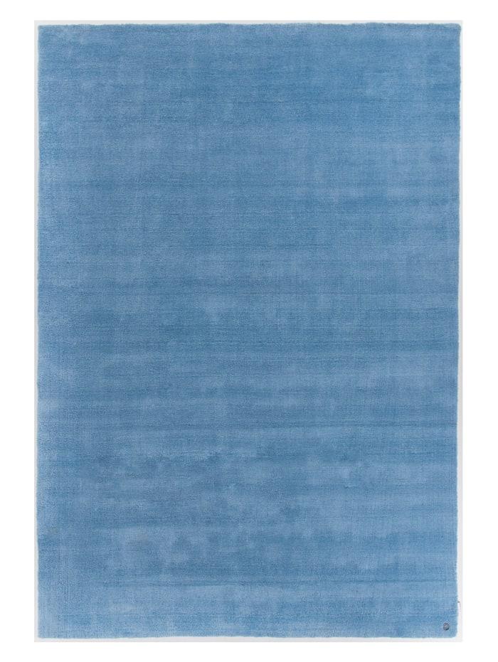 Tom Tailor Handtuftteppich Powder, Blau