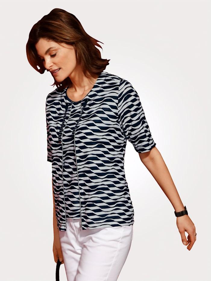 Shirt-Set mit Top