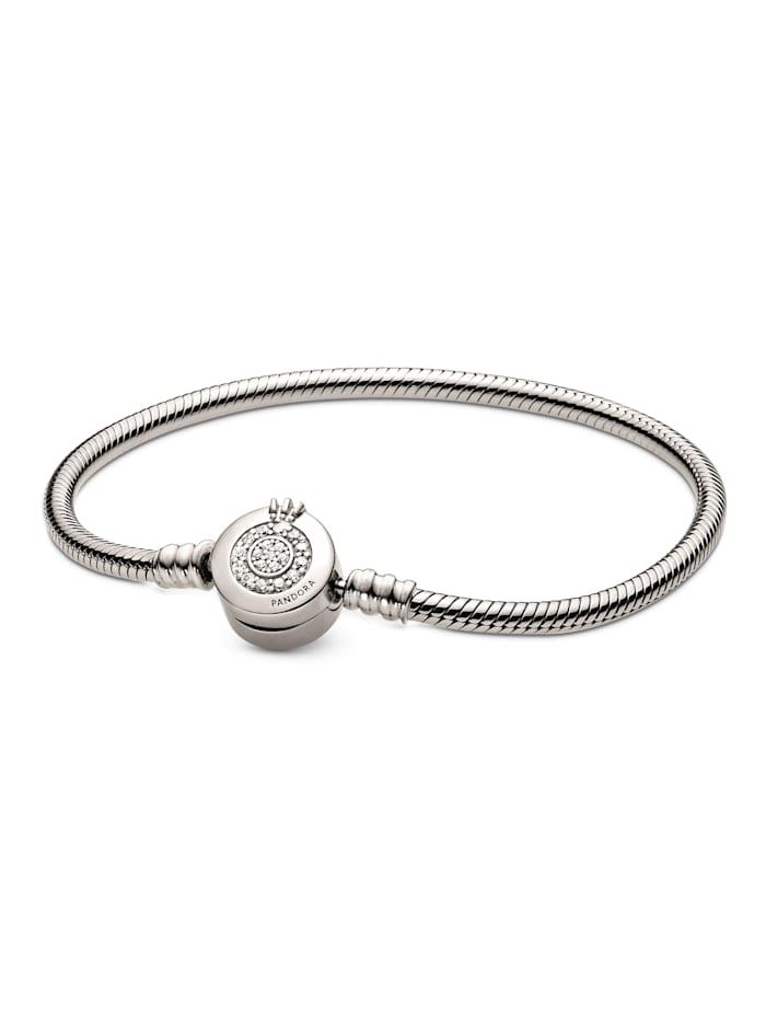Pandora Armband Pandora - Funkelnde Krone - 599046C01-19, Silberfarben