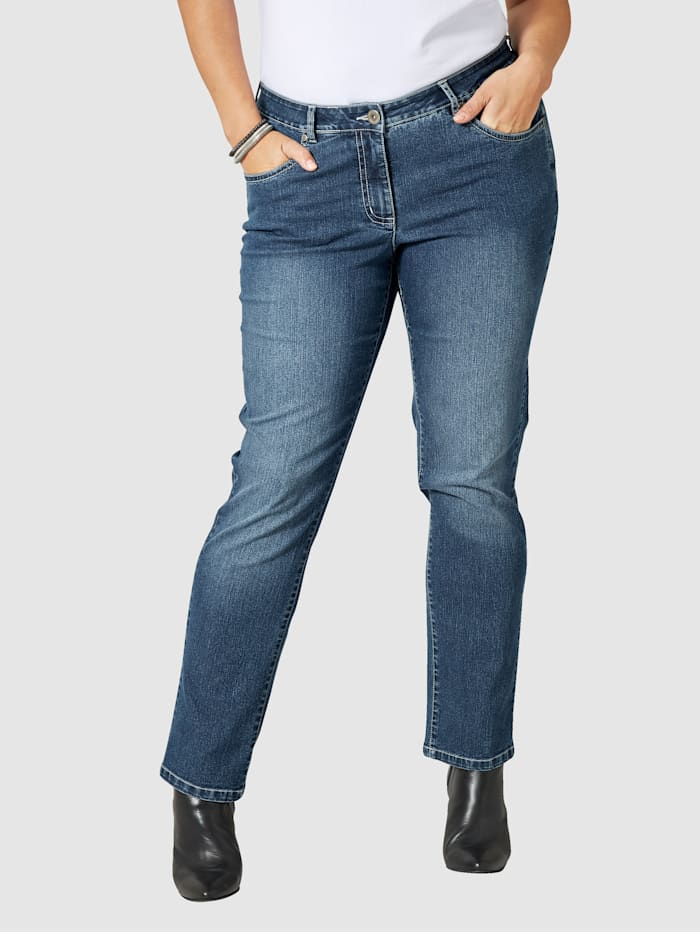 Dollywood Slim Fit jeans Emma, Blauw