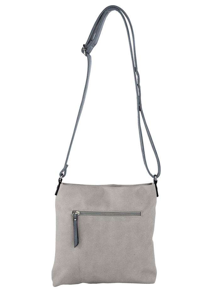 Väska i stilren design med ränder