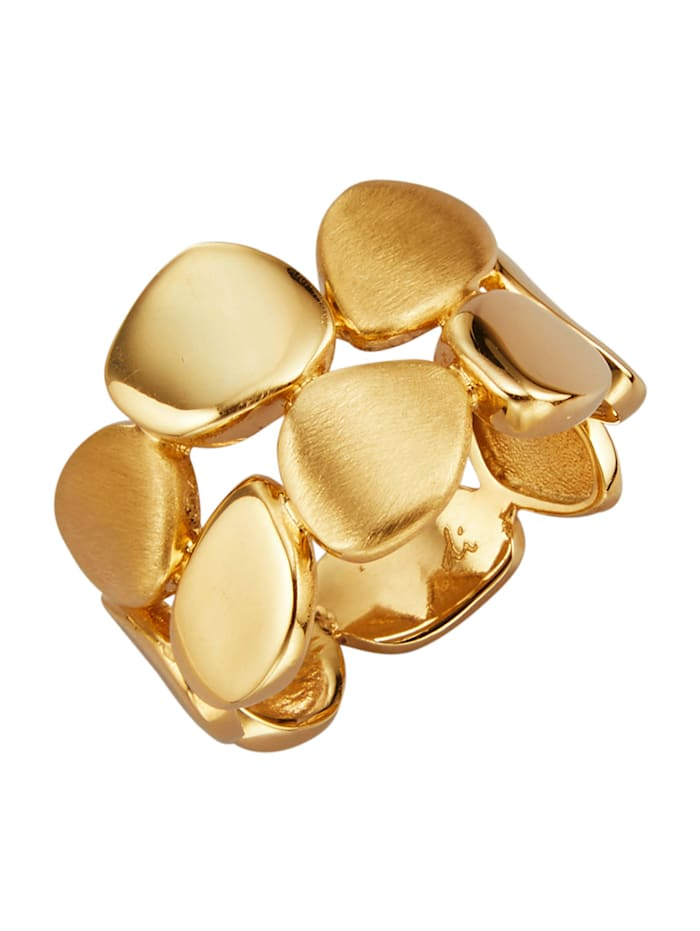 Diemer Gold Damesring van 14 kt., Geelgoudkleur