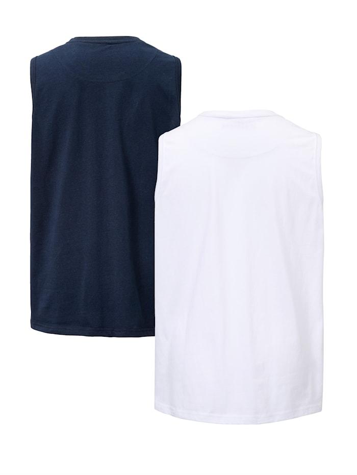 Mouwloze shirts per 2 stuks