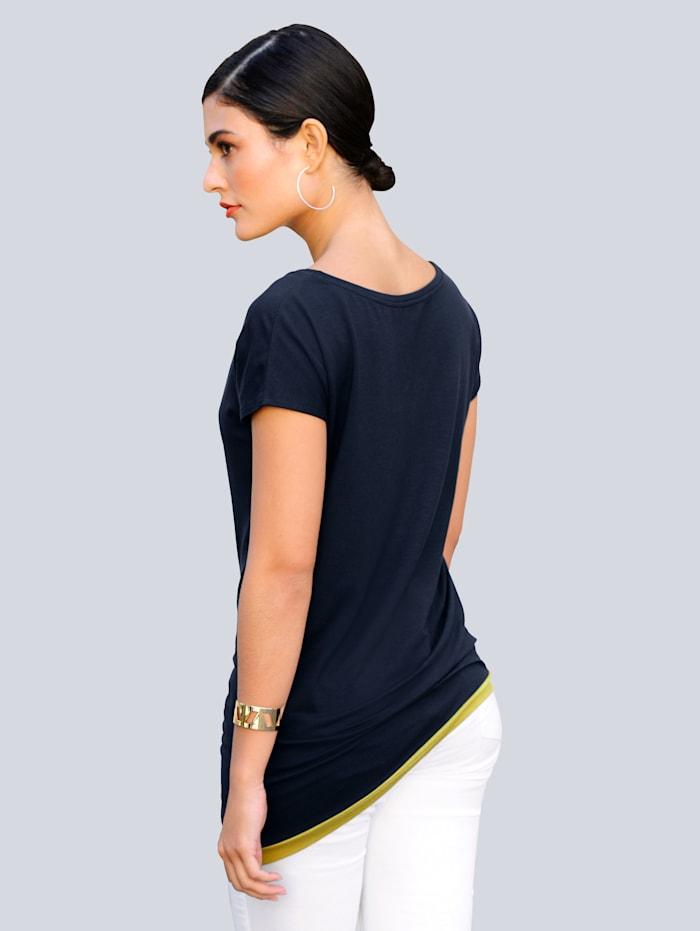 Shirt van comfortabele, elastische jersey