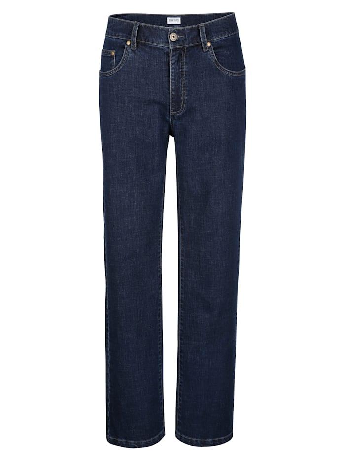 John F. Gee 5-Pocket Jeans in trageangenehmer Qualität, Dark blue