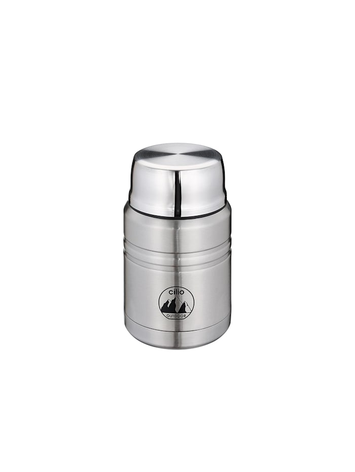 Cilio Food Container MONTE 500 ml, Silber