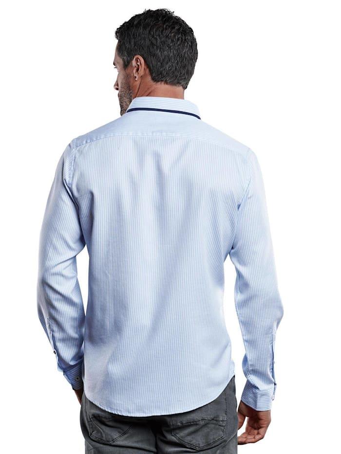 Edel glänzendes Langarmhemd