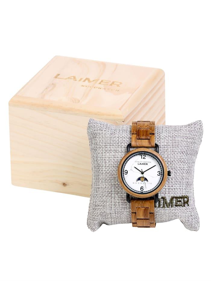Laimer Damenuhr 0126, Braun