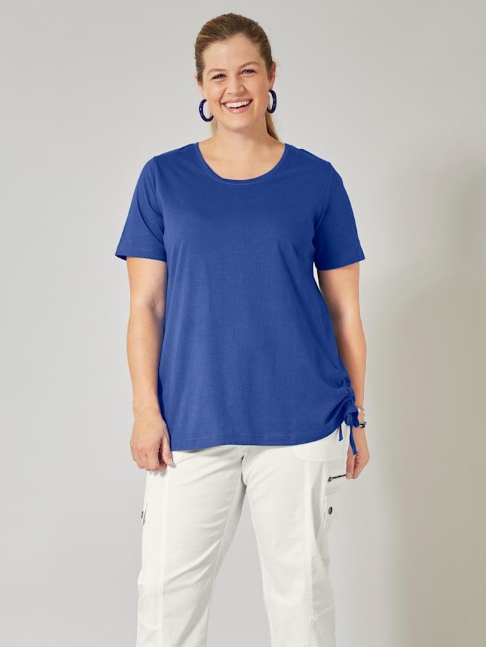 Janet & Joyce Shirt, Royalblau