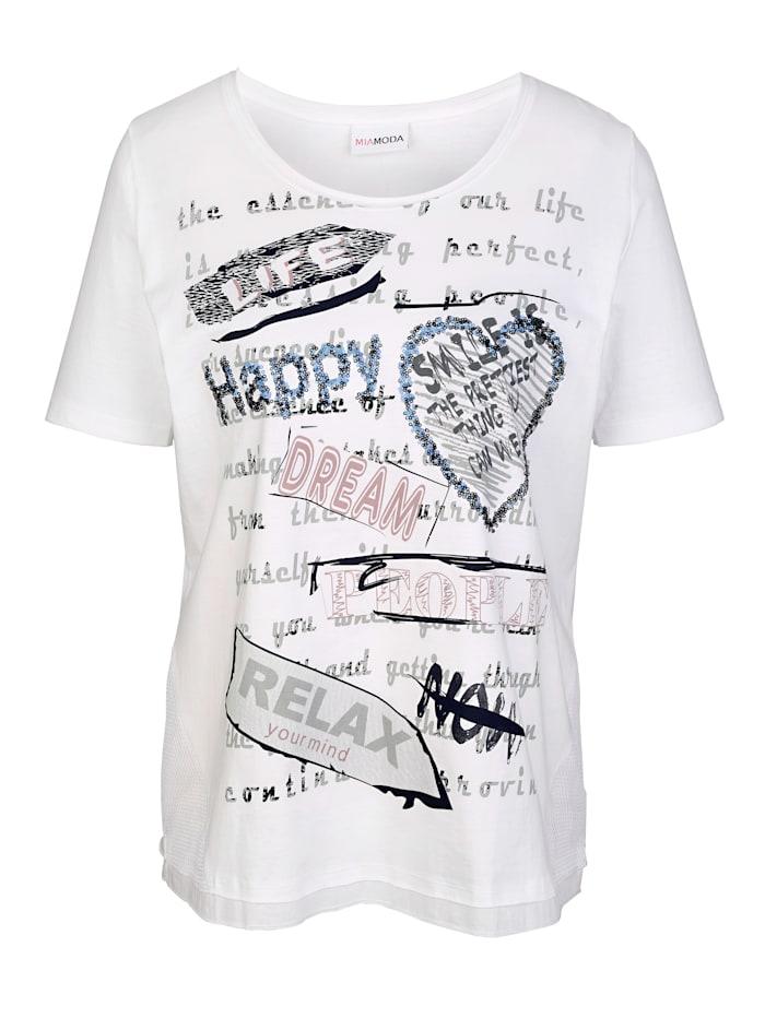 Shirt mit verschiedenen Druckmotiven
