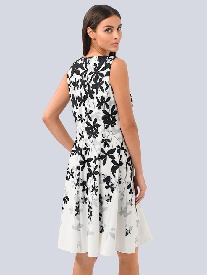 Kleid mit floralem Druck im Verlauf
